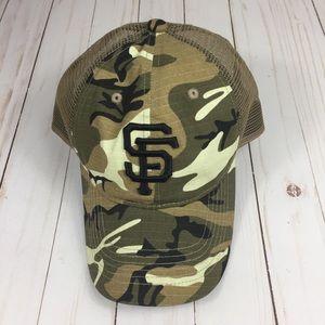 0fbd35696fd Camo San Francisco Giants baseball hat